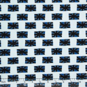 British Invasion - Flag Blue Yardage