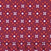 Juxtaposey - Posey Star Fuchsia Yardage