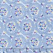 Blue Carolina - Carolina Cluster Blue Yardage