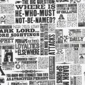 Wizarding World - Harry Potter Newsprint Yardage
