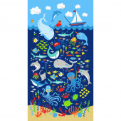 Snorkel Adventure - Sealife Navy Panel