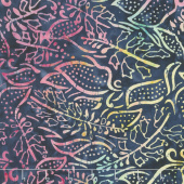 "Tonga Batiks - Woodlands Cosmic 106"" Wide Backing"