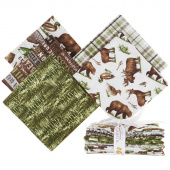 Lakeside Lodge 5 Easy Pieces Flannel Rolls