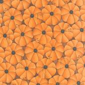 Old Made - Pumpkin Pins Orange Yardage