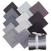 Kona Cotton - Stormy Skies Fat Quarter Bundle