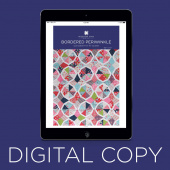 Digital Download - Bordered Periwinkle Pattern by MSQC