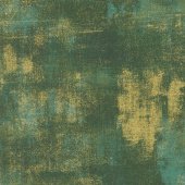 Grunge Basics - Christmas Green Metallic Yardage