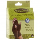 Creative Comfort Crafter's Comfort Gloves (Medium)