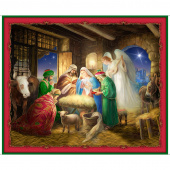 Born is the King - Nativity Multi Digitally Printed Panel