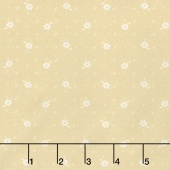 Faded Memories - Faded Flower Cream Yardage