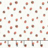 Solana - Ladybug Cream Yardage