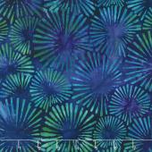 Artisan Batiks - Retro Metro Fireworks Teal Yardage