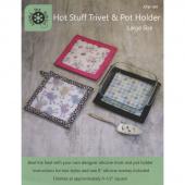 Hot Stuff Trivet and Pot Holder Pattern - Large