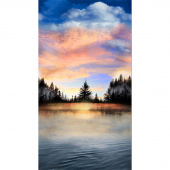 Novelty - Sunset on a Lake Multi Panel
