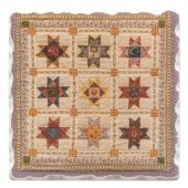 American Quilts Coaster - Ohio Stars