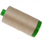 Aurifil 40 WT Cotton Mako Large Spool Thread Light Sand
