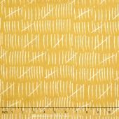 Mixed Bag 2017 - Hash Marks Sunshine Flannel Yardage