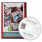 Mug Rugs, Volume 3 Machine Embroidery Pattern & CD