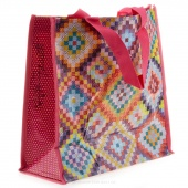 Kaffe's Bright Squares Tote Bag