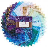 Artisan Batiks - Fancy Feathers 3 Charm Pack
