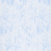 Pearl Frost - Winter Trees Powder Blue Pearlescent Yardage