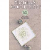 Modern Succulent Mini Quilt Pattern