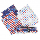 America Home of the Brave 5 Easy Pieces Fat Quarter Bundle