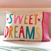 Cut Sew Create - Sweet Dreams Pillow Case Kit
