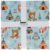 """Camp - A - Long Critters 10"""" Squares"""