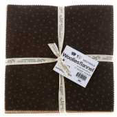 "Woolies Flannel Neutral 10"" Squares"