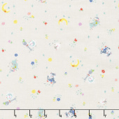 Once Upon a Rhyme - Diddle Cream Yardage