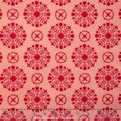 Handmade - Olivia Red/Coral  Yardage