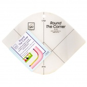 Round the Corner Ruler - Fleece with Flair