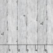 Chicken Scratch - Wood Panel Gray Yardage