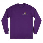 Missouri Star Long Sleeve Purple T-Shirt - Small