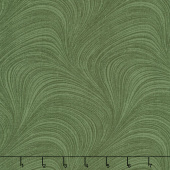 "Wave Texture - Wave Texture Medium Green 108"" Wide Backing"