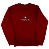 MSQC Crewneck Unisex Sweatshirt Garnet - 4XL