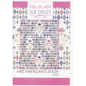 Sue Daley Mrs. Hartigan's Stash Pattern with Templates and Papers