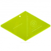 "Missouri Star 10"" Rhombus Template"