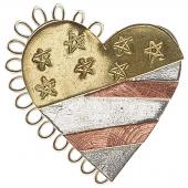 American Heart Magnetic Needle Nanny
