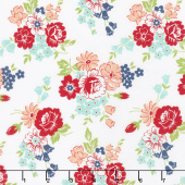 Smitten - Bouquet Cream Yardage