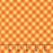 Bee Basics - Gingham Orange Yardage