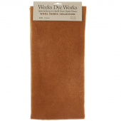 Weeks Dye Works Hand Over Dyed Wool Fat Quarter - Solid Cognac
