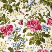 Poppies - Poppies Soft White Yardage