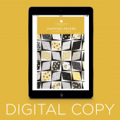 Digital Download - Diamond Pavers Quilt Pattern by Missouri Star