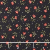 Thistle Farm - Toad Lily Black Yardage