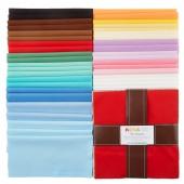 Kona Cotton 30's Palette Ten Squares