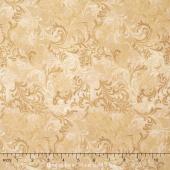Wilmington Essentials - Vanilla Cream Embellishment Tan Yardage