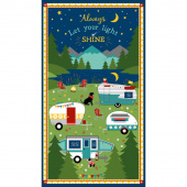 Gone Glamping! - Large Multi Panel