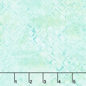 Artisan Batiks - Greenhouse 3 Diamond Grid Mint Yardage